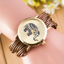 2919 Classic elephant dial bracelet watch european rope bracelet watch