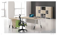 new design manufacturer hot sale office furniture wooden executive office desk manager table office