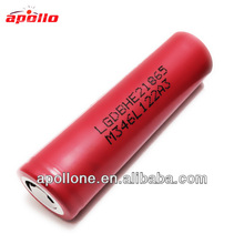 3.7V rechargeable LiMn High Drain battery 18650
