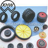 rubber wheel supplier model toy rubber tires/silicone toy car wheel 2015