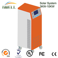 High quality 10KW single phase pure sine wave Solar power supply system inverter