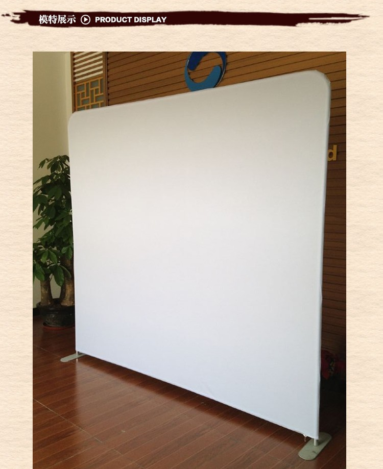 Fabric Exhibition Stand Goal : Tension fabric display exhibition roll up stand