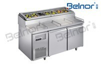 Pizza Counter Commercial Refrigerator
