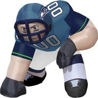 Latest design of nfl inflatable sports player for sale