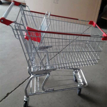 Factory Price Folding Steel Shopping Trolley Cart With Child Seat