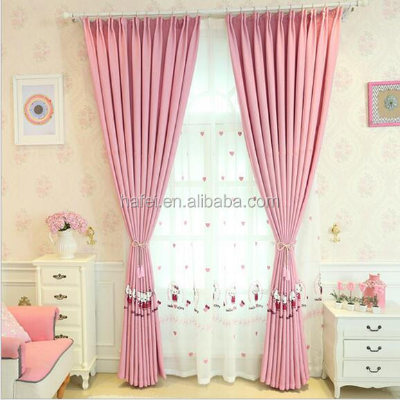 colorful jacquard cartoon curtain design for children bedroom