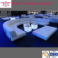 Made in Sinofur Classical u shaped sectional sofa