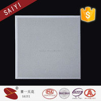 Soundproof perforated aluminum ceiling plafond