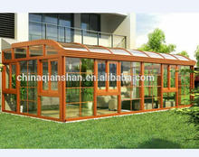 curved roof design aluminium winter lowes sunroom with laminated glass for balcony