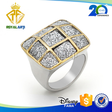 Wholesale Zinc Alloy Champion Rings with Shiny Glitters