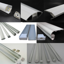 15*06mm LED Strip Light Aluminum Extrusion Profile for 5050 3528 Strip Rope Lights