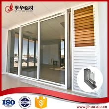 High quality aluminum frame glass door parts
