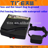 New Smart Dog In-ground Pet Fencing Device with waterproof collar TZ-W227 underground dog fences