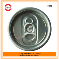 Beer can easy open end top