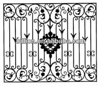 2013 manufacturermetal wrought iron window grills design of solid bar