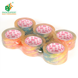 Heavy Duty Cartons Crystal clear tape transparent no bubble carton sealing bopp adhesive packing tape