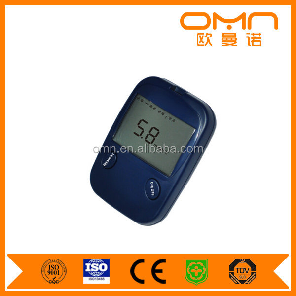 Easy Glucometer & Gluco Strips Small Blood Sample Blood Glucose Meter Cheap Blood Sugar Tester OEM Support Factory Price