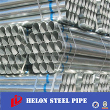 Pre zinc coated thin wall galvanized steel table erw pipe
