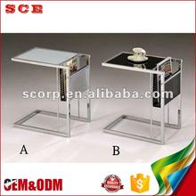 High level end table restaurent luxury coffee tables furniture modern