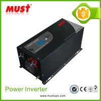 Charge current adjustable inverter for solar electricity generating system for home