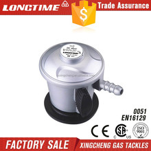 colorable safety gas regulator