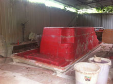 outdoor swim spa mold making