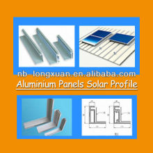 6000 series alu profile for home solar panels