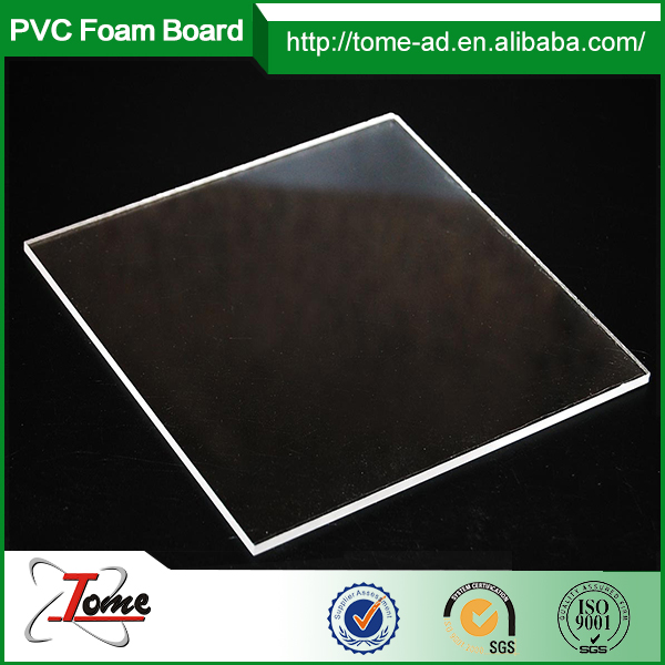 transparent acrylic sheet/perspex/cast acrylic sheet