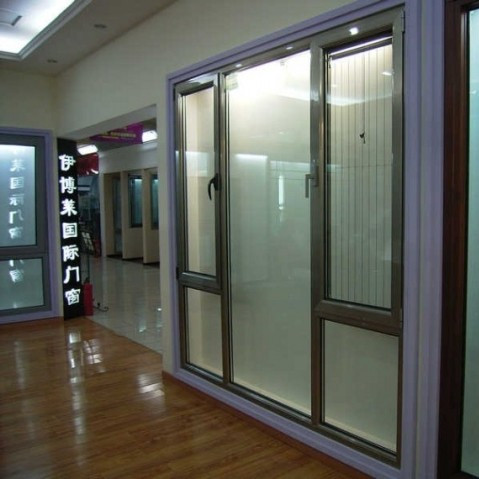 interior glass door for partition and living room