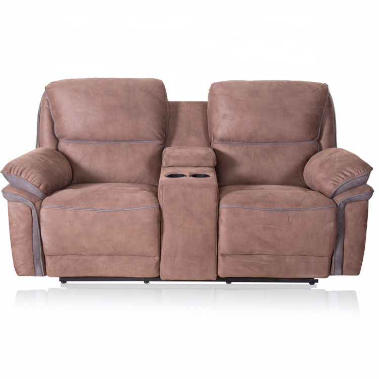 Indonesia best quality fabric recliner sofa set modern with coffee ...