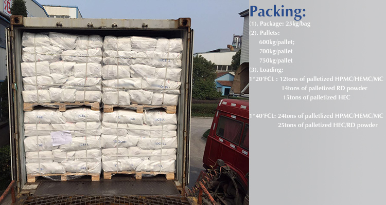 Building material additive HPMC k100m Cellulose Ethers adhesive auxillary