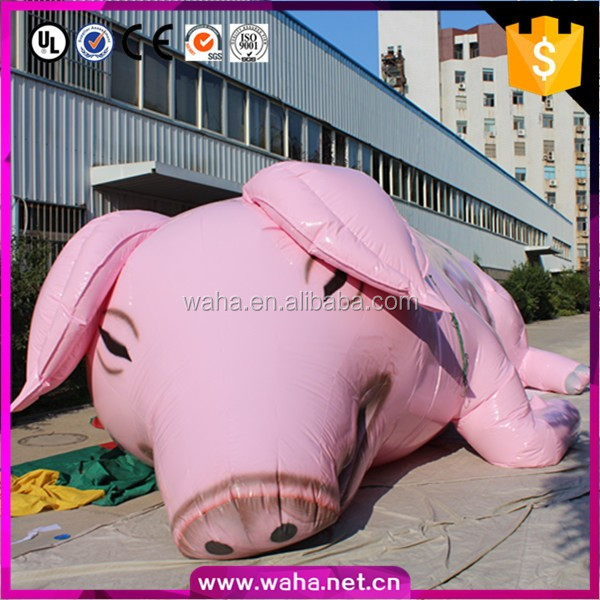 inflatable life size live pig promotional items for sale