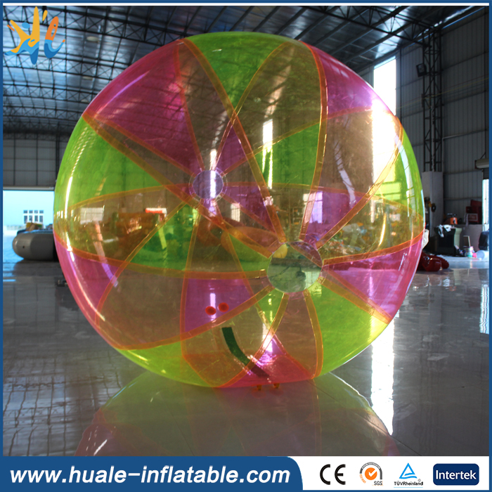 2016 colorful inflatable water walking ball for sale