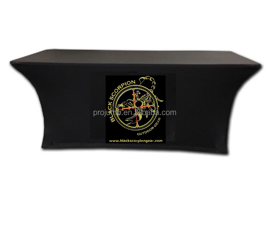 any logo advertising table cloth