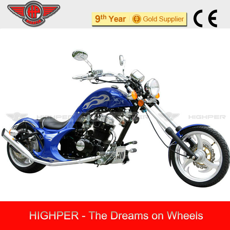 2013 High Quality 250cc 2 wheel motorcycle chopper bike with EPA GS205