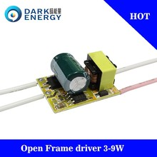 cheap price 3-9w led driver 250MA 220v electronic driver for bulb