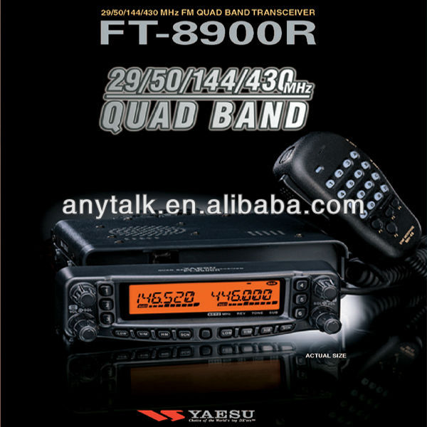 Yaesu FT8900R 29/50/144/430Mhz FM Quad band amateur radio