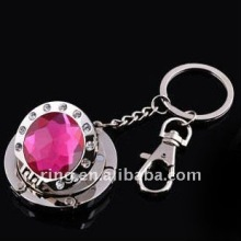 Folding keychain new mirror Alloy Bag Hook Handbag Holder