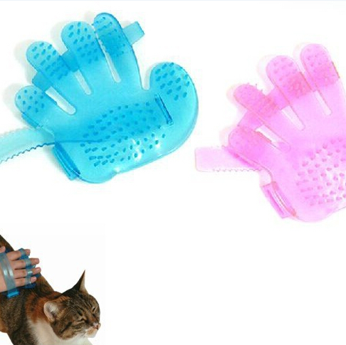 Pet dogs and cats to comb comb massage bath glove Pet bath brush pet products wash head Scalp massage brush