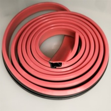 soft double colors liquid silicone rubber seal strip silicone seal strip for door or window of oven or machine