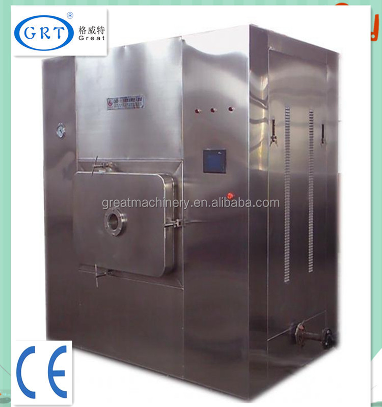 The latest technology microwave vacuum drying machine for dianthus caryophyllus