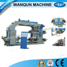 CE certificate,High speed 4 colors flexo printing press