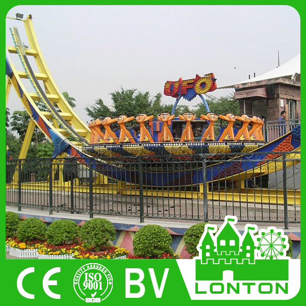 Funny Rides Park Equipment Flying Saucer UFO amusement rides for sale