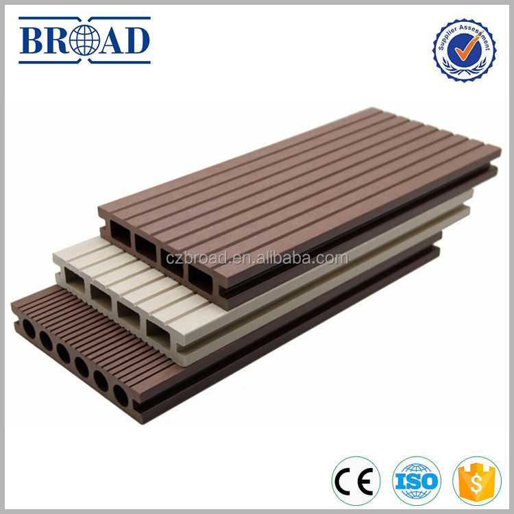 High quality WPC Online embossing outdoor composite decking