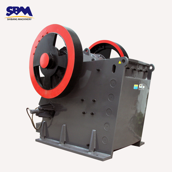SBM 2017 latest technology new price jaw crusher