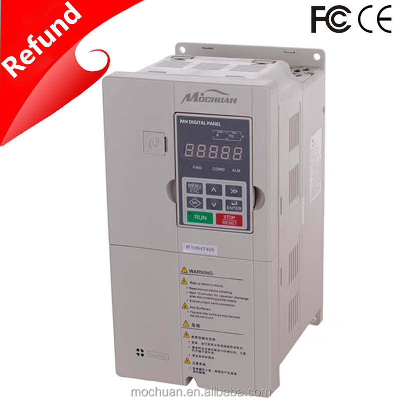 low cost 50hz 60hz 3phase 400V ac 15kw variable frequency drive