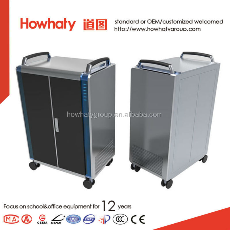Product Portable Storage : Universal metal portable storage charging cart for office