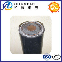 PVC Jacket and Copper Clad Steel Conductor Material CABLES AND WIRE single cores 3 cores or 4 cores size 0.5 mm or 0.8 mm.