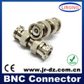 JR cctv system bnc Male Coupler Connector
