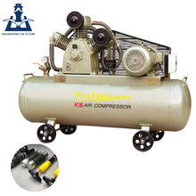 Promotional low speed mobile 7.5kw piston air compressor for biogas